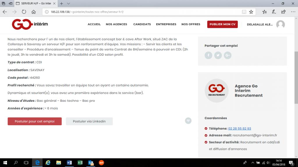 poster cv pour les pays de la loire  bretagne  mode d u0026 39 emploi